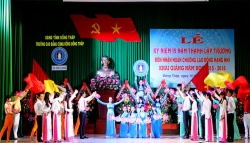 The 2015-2016 School Year Opening Ceremony at Dong Thap Community College