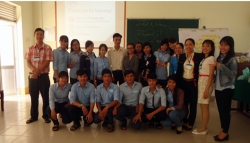 "The extra-curricular program ""I have a dream"" with the volunteer from World University Service of Canada (WUSC)"